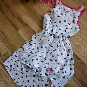 Girls Guess Butterfly's Dress size 7